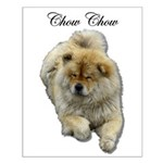 Chow Chow Dog Small Poster