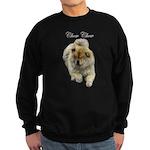 Chow Chow Dog Sweatshirt (dark)
