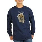 Chow Chow Dog Long Sleeve Dark T-Shirt