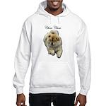 Chow Chow Dog Hooded Sweatshirt