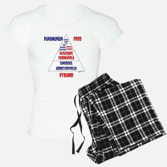 Panamanian Food Pyramid Pajamas