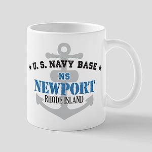 US Navy Newport Base Mug