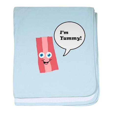 I'm Yummy Bacon baby blanket