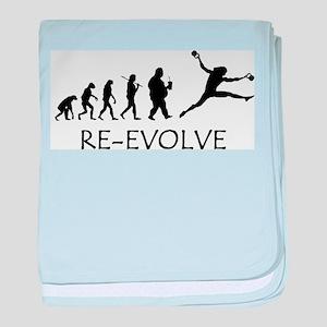 Re-Evolve baby blanket