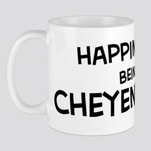 Happiness is Cheyenne Mug