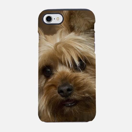 Yorkie Puppy iPhone 7 Tough Case
