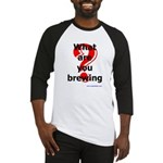 What Are You Brewing? Baseball Jersey