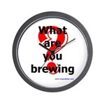What Are You Brewing? Wall Clock