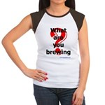 What Are You Brewing? Women's Cap Sleeve T-Shirt