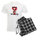 What Are You Brewing? Men's Light Pajamas