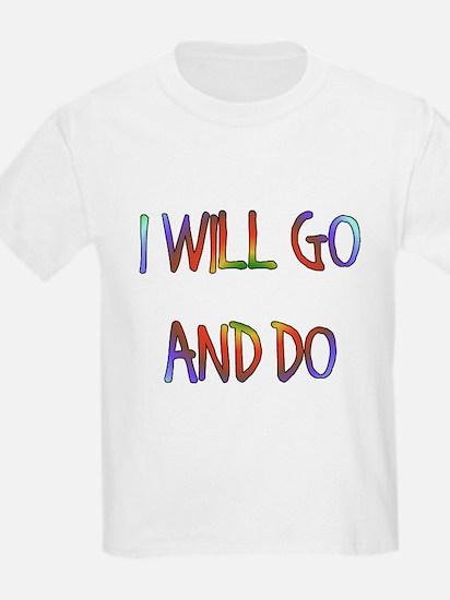 Nephi's Courage Kids T-Shirt