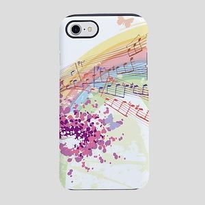 Colorful Music iPhone 7 Tough Case
