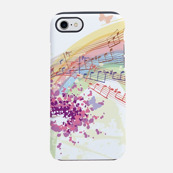 Colorful Music iPhone 7 Tough Case
