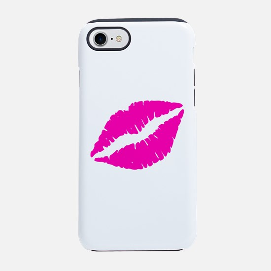 Sexy Pink Lips Kiss iPhone 7 Tough Case