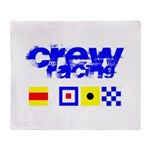 'Race 2 Win' in this Throw Blanket