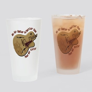 The Air Guitar Pint Glass