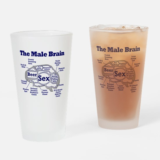 The Thinking Man's Pint Glass