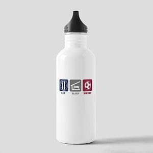 Eat Sleep Soccer Stainless Water Bottle 1.0L