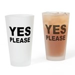 Say Please With This Pint Glass