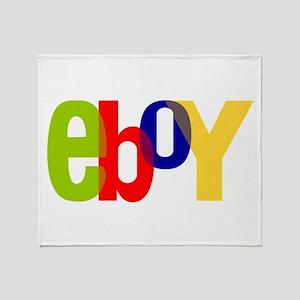 e boy's Throw Blanket