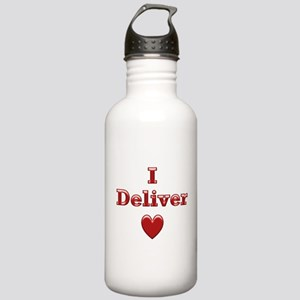 Deliver Love in This Stainless Water Bottle 1.0L