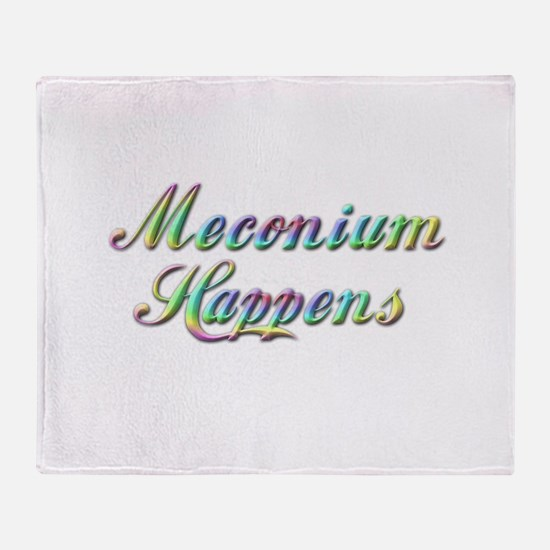The Meconium Throw Blanket