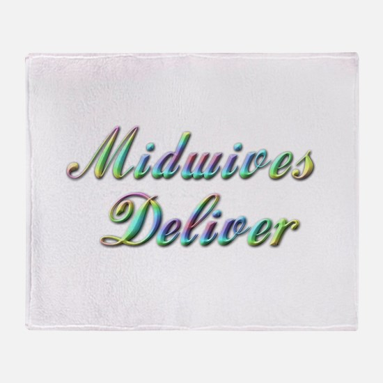 Deliver With This Throw Blanket