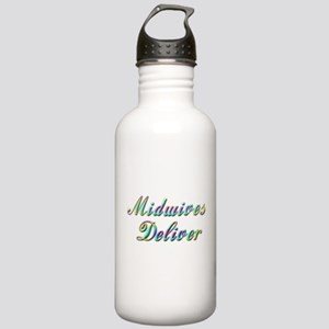 Deliver With This Stainless Water Bottle 1.0L