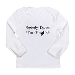 The English Long Sleeve Infant T-Shirt