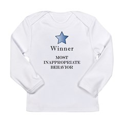 The Gotch'ya Award - Long Sleeve Infant T-Shirt