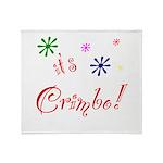 It's The Crimbo Throw Blanket