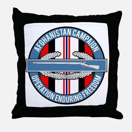 OEF and CIB Throw Pillow