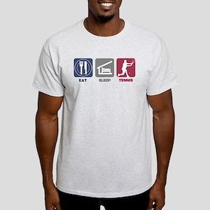 Eat Sleep Tennis - Man 2 Light T-Shirt