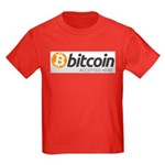 Bitcoins-7 Kids Dark T-Shirt