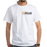 Bitcoins-7 White T-Shirt