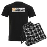 Bitcoins-7 Men's Dark Pajamas