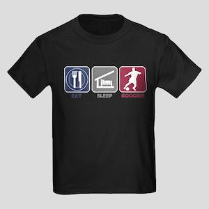 Eat Sleep Soccer - Men's 2 Kids Dark T-Shirt
