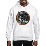 Fawn's Tri Hooded Sweatshirt