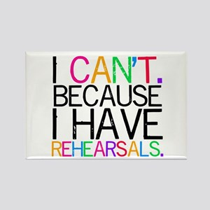 """""""I can't. Because..."""" Magnets"""