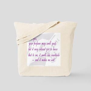 Stinky Perfume Tote Bag