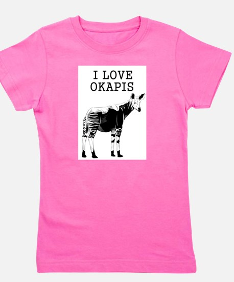 I Love Okapis T-Shirt