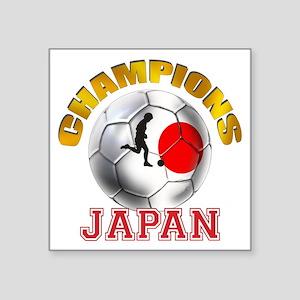 Japanese Soccer Sticker