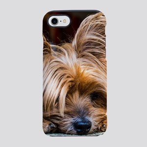 Yorkshire Terrier Dog Small Cu iPhone 7 Tough Case