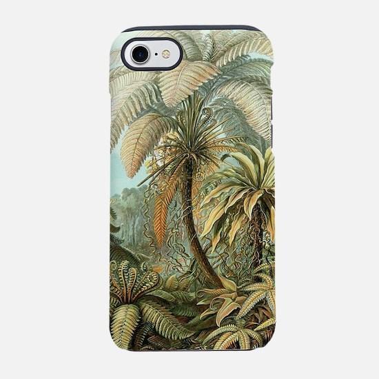 Vintage Tropical Palm iPhone 7 Tough Case