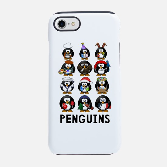 Penguins iPhone 7 Tough Case