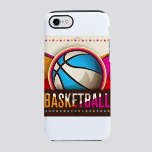 Basketball Sport Ball Game Coo iPhone 7 Tough Case