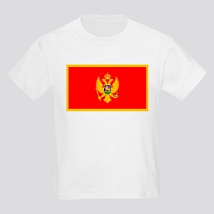 Montenegro Montenegrin Blank Kids T-Shirt