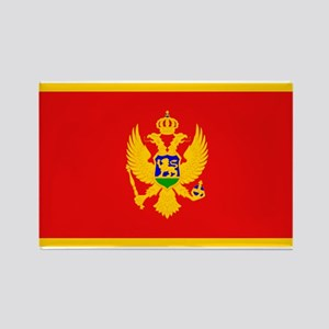 Montenegro Montenegrin Blank Rectangle Magnet