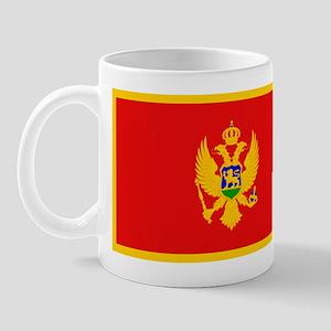 Montenegro Montenegrin Blank Mug