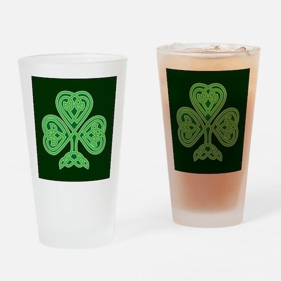 Celtic Shamrock - St Patricks Day Drinking Glass